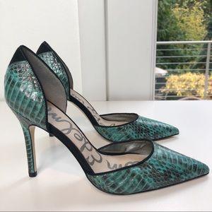 Sam Edelman Delilah Skin Leather D'Orsay Heel